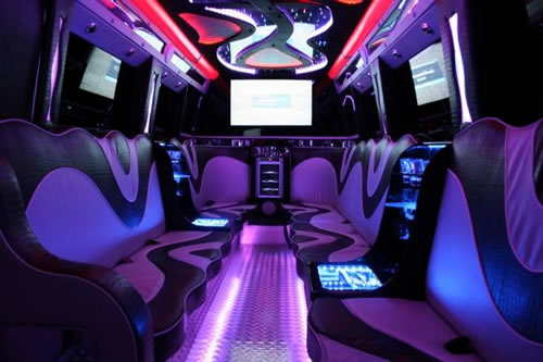 Party Bus limo hire in Manchester, Liverpool, Blackpool, Leeds, Bradford, Bolton, Preston, Wigan, Sheffield, North West, West Yorkshire, South Yorkshire, Cheshire, Lancashire, UK.