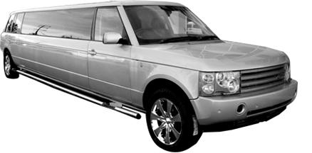 Chauffeur stretched Range Rover Sport limousine hire interior in Nottingham, Derby, Leicester, Birmingham, Leeds, Bradford, Nottinghamshire, Derbyshire, West Yorkshire, South Yorkshire Midlands.