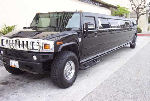 Chauffeur stretched black Hummer H2 limousine hire interior  in Glasgow, Edinburgh, Aberdeen, Dundee, Scotland